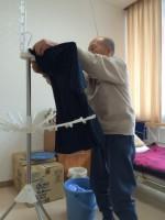 介護老人保健施設洗濯リハビリテーション